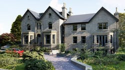 No.4 Park Villas in Roundhay - Phase 2